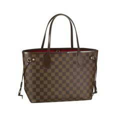 LV Great Louis Vuitton Neverfull PM Brown Totes N51109 Can Be Whatever You Want In Your Life Ever!