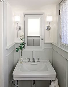 Small Powder Room Ideas cabin fever | cabin, powder room and room