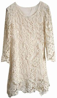 Crochet Elegance Dress