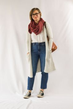Winter 10x10 Day Two: why I'm unsure about these jeans from Everlane #winter10x10 #10x10challenge #everlanejeans Ethical Fashion Brands, Ethical Clothing, Vegan Fashion, Slow Fashion, Sustainable Clothing, Sustainable Fashion, Classic Wardrobe, Cold Weather Fashion, New Outfits