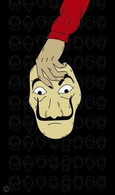 Read La casa de papel from the story Fondos De Pantalla by BereniceNT (Berenice) with reads. Tumblr Wallpaper, Cool Wallpaper, Lock Screen Wallpaper, Wallpaper Backgrounds, Disney Wallpaper, Galaxy Wallpaper, Wallpaper Spring, Games Tattoo, Halloween Party Kostüm