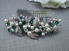 Hey, I found this really awesome Etsy listing at https://www.etsy.com/listing/229698733/pearl-and-rhinestone-hair-piece-wedding