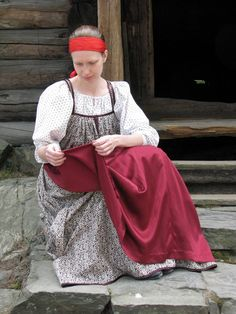 Russian Folk, Russian Art, Folk Costume, Costumes, Folk Clothing, Russian Fashion, Ancestry, Culture, Clothes For Women