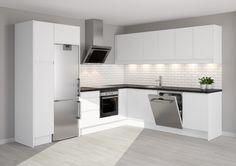 Epoq Kitchen: Integra white