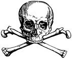 Skull and Cross Bones Rubber Craft Stamp - Rubber Stamps Direct http://www.stampsdirect.co.uk/skull-and-cross-bones-rubber-stamp-569-p.asp