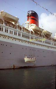 Mm Slide Queen Of Bermuda London Furness Lines Cruise Ship - Queen of bermuda cruise ship