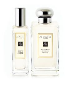 I could live without most perfumes except Jo Malone's English Pear and Freesia. (Fortunately, I don't have to).