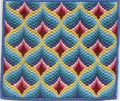 Resultado de imagem para bargello embroidery patterns