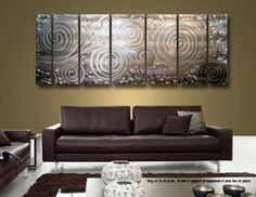 Modern Metal Wall Decor casa cortes geometric abstract art metal wall decorcasa cortes