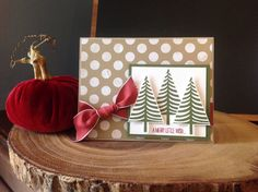 Festival of trees- Stampin Up!