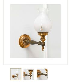 Hall sconce option