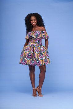 Dogon African Print Dress