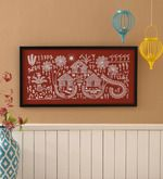 Buy Manomay Kreations Canvas 12 x 2 x 24 Inch Women At Work Framed Warli Painting  Online: Shop from wide range of Ethnic Art Online in India at best prices. ✔Free Shipping✔Easy EMI✔Easy Returns