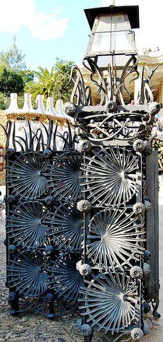 Parque Güell Puerta de Entrada Gaudí