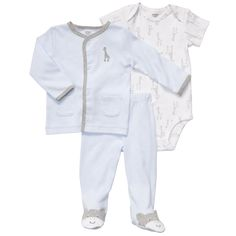 3-Piece Cardigan Set for a little boy's homecoming outfit.  Carters (sale $10)
