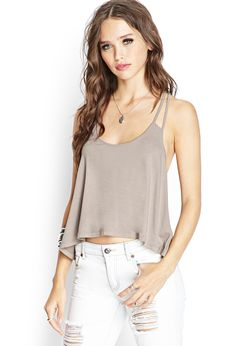 Strappy Knit Cami | FOREVER21 #SummerForever
