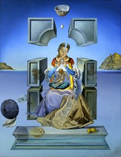 Salvador Dali The Madonna of Porte Lligat, 1948