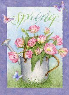 jardinage on jardine - Page 4 Garden Illustration, Jar Art, Spring Art, Gif Animé, Art Themes, Digi Stamps, Vintage Ephemera, Paper Background, Vintage Flowers
