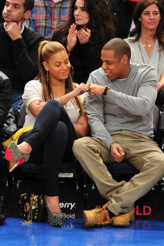 The Best of Beyoncé and Jay-Z - Beyonce and Jay Z Pictures - ELLE #CoupleCrushin
