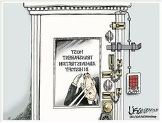 Most transparent administration in history.
