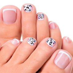 Wild Animal Print On Your Toe Nails ❤ 30+ Incredible Toe Nail Designs for Your Perfect Feet ❤ See more ideas on our blog!! #naildesignsjournal #nails #nailart #naildesigns #toes #toenails #toenaildesigns #pedicure French Manicure Designs, French Tip Nails, Toe Nail Designs, Stiletto Nails, Gel Nails, Toenails, Ingrown Nail, Summer Toe Nails, Nails Only