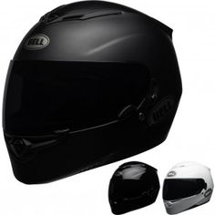 Schwarz Solid Bell Powersports Helme RS-1 XXL