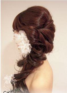 a wedding blog for gauteng brides: Wedding Hair Trends 2012
