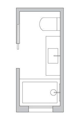 X Bathroom Space Design on