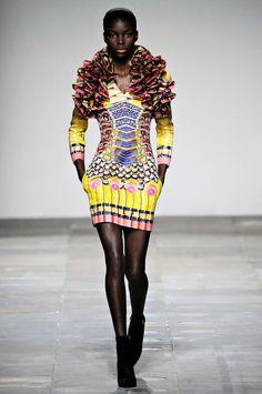 Mary Katrantzou Fall 2012, #2 Pencil Dress