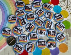 Custom LGBTQ+ Pride Badges - for Pride Month #pridemonth #lgbtqpride #pride #badges #buttonbadges Personalised Badges, Custom Badges, Custom Buttons, Badge Template, Badge Creator, Thing 1, Badge Design, Button Badge, Design Your Own