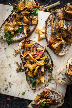 Sweden Mushrooms On Toast. | DonalSkehan.com