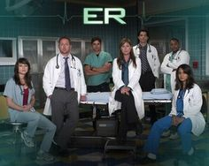 I loved watching ER on Thursday nights in high school. Best Tv Shows, Favorite Tv Shows, Amblin Entertainment, Nbc Tv, Michael Crichton, Medical Drama, Childhood Days, Vintage Tv, General Hospital