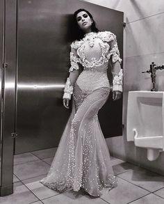 Kim Kardashian West at the LA Fashion Awards.