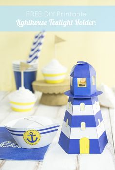 House papertoys on pinterest paper models free paper for 3d paper lighthouse template
