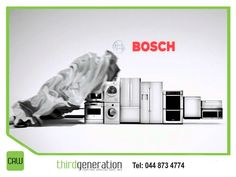 Bosch's full line of household appliances helps make every day life a little easier. Visit us in-store or contact us on 044 873 4774 for our huge range available.