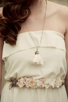Bohemian Wedding Dress  The Lucy in the Sky Gown  Made by ktjean  Whenever the Wedding may be...