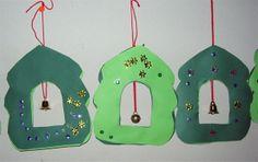 Tiuku on kahden kartongin välissä. www. Christmas Tree, Christmas Ornaments, Holiday Decor, Home Decor, Teal Christmas Tree, Decoration Home, Room Decor, Xmas Trees, Christmas Jewelry