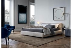 Bolton Bed by Giuseppe Vigano for Poliform