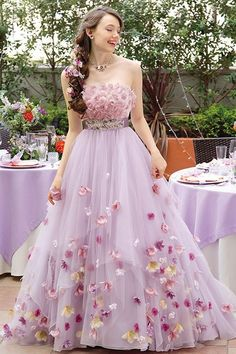 Magbridal Attractive Tulle Strapless Neckline A-line Quinceanera Dress With Handmade Flowers & Belt Quinceanera Dresses, Prom Dresses, Wedding Dresses, Event Dresses, Pretty Dresses, Beautiful Dresses, Party Wear, Party Dress, Best Formal Dresses