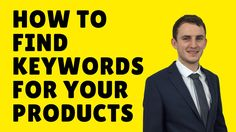 How to find the best keywords for your products Good Things, Amazon, Tips, Products, Riding Habit, Advice, Beauty Products