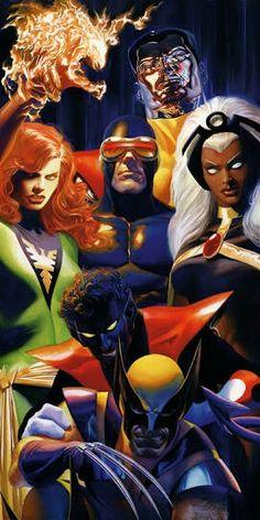X-Men by Alex Ross