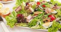 Easy nicoise salad: http://gustotv.com/recipes/snacks/nicoise-salad/