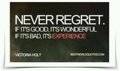 Experience counts..