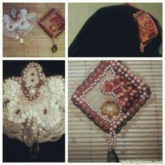 it's a brooch, custom design, handmade