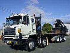 Nissan Diesel, New Zealand Nissan Diesel Truck, Diesel Trucks, Dump Trucks, Cool Trucks, Crane, Cars And Motorcycles, New Zealand, Asian, Custom Trucks