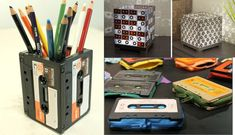 Algunas formas de reciclar tus antiguos cassettes