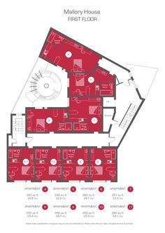 1st Floor Studios Floor Plan