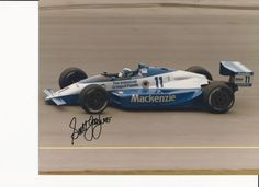 autographed  scott goodyear cart  indycar racing photograph from $14.99
