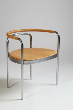 Armchair, PK12. Designed by Poul Kjaerholm for Kold Christensen, — Modernity