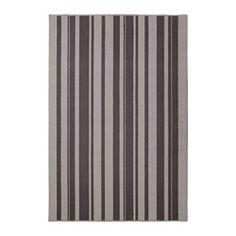 IBSTED Rug, low pile, gray - IKEA